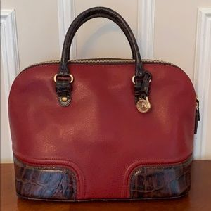 Brahmin 25th Anniversary Mint Condition Satchel